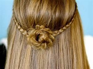 Schöne Frisuren Für Lange Haare : einfache frisuren 80 originelle modelle ~ Frokenaadalensverden.com Haus und Dekorationen