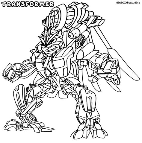 transformer coloring pages coloring pages