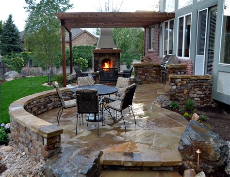 Outdoors Patio : Backyard Patio Ideas For Making The Outdoor More