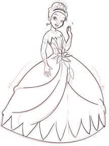 How to Draw Step by Step Disney Princess