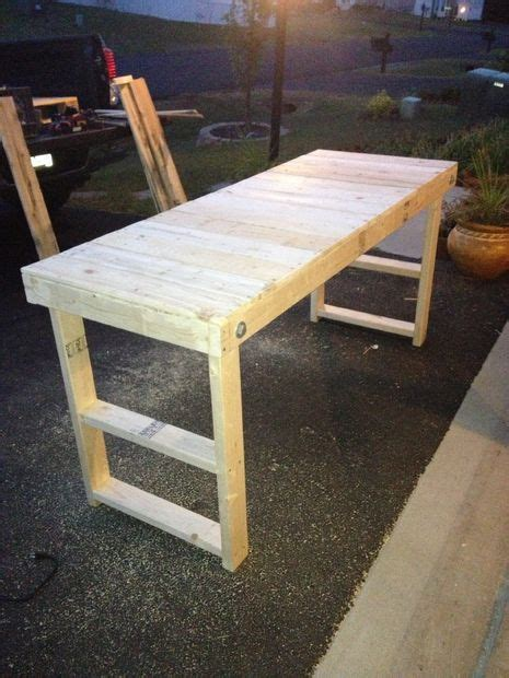 easy cheap folding workbench folding workbench diy