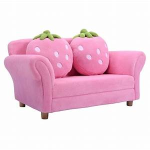 bl pi kids sofa strawberry armrest chair sofas furniture With sofa couch for toddler