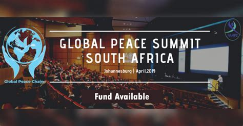 global peace summit   south africa voices  youth