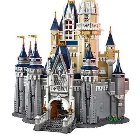skirt flag the new lego disney world castle costs how much disney