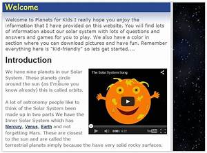5 Free Solar System For Kids Websites