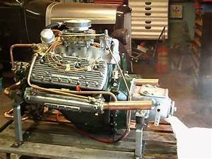 Marine Ford Flathead V8  First Run