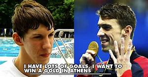 This Interview Of A 15YearOld Michael Phelps Dreaming To ...