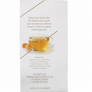 Twinings Soothe Herbal Tea Turmeric Orange And Star Anise Caffeine Free 18 Tea Bags 1 27 Oz  36