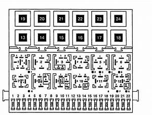 Citroen C2 Fuse Box Diagram