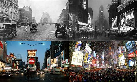 Times Square: Amazing images capture the Crossroads of the ...