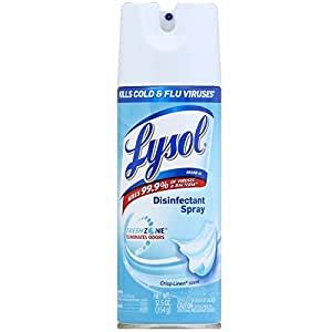 Amazon.com: Lysol Disinfectant Spray - Crisp Linen 12.5 oz