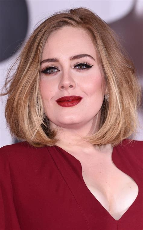 adele collects  brit awards wearing   foundation