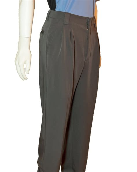 officials depot poly spandex umpire plate pants charcoal