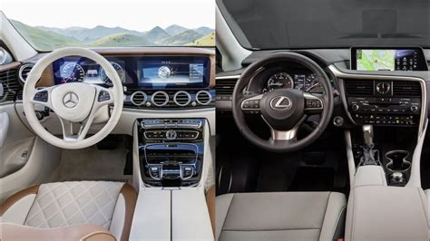 lexus es  mercedes benz  class interior youtube