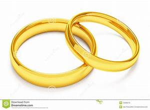 two gold wedding rings royalty free stock photo image With two gold wedding rings
