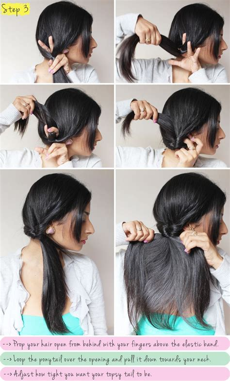 Hair Tutorials Hair Tutorial Boho Braided Topsy Tail