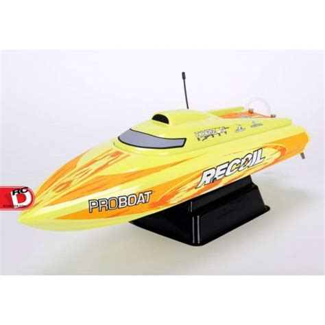 Recoil Rc Boat by Recoil 26 Inch Self Righting Brushless V Rtr From Pro