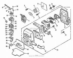 Snapper Rt2451 Rolling Trimmer Parts Diagram For Rt2451