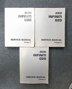 2000 Infiniti G20 Service Repair Manual Set