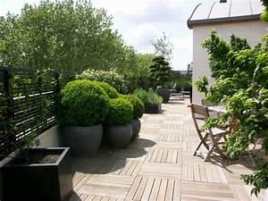 Aménagement Terrasse Appartement : wandgestaltung wohnzimmer comment decorer une terrasse pas trop cher ~ Melissatoandfro.com Idées de Décoration