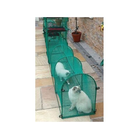 outdoor cat cage deck patio cat tunnel for patio and other