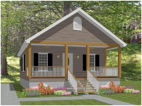 Small Cottage House Plans with Porches Small Country House
