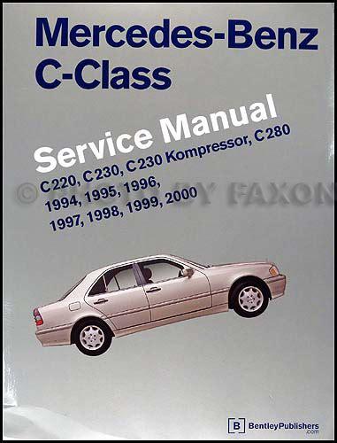 old car repair manuals 1994 mercedes benz c class head up display 1994 2000 mercedes benz c class bentley repair shop manual