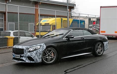 First Spyshots Of The Facelifted 2019 Mercedesamg S63
