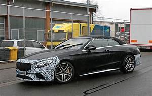 Mercedes S63 Amg : first spyshots of the facelifted 2019 mercedes amg s63 ~ Melissatoandfro.com Idées de Décoration