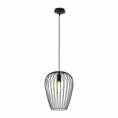Newtown Pendant 60watt Lighting Metal Eglo Single