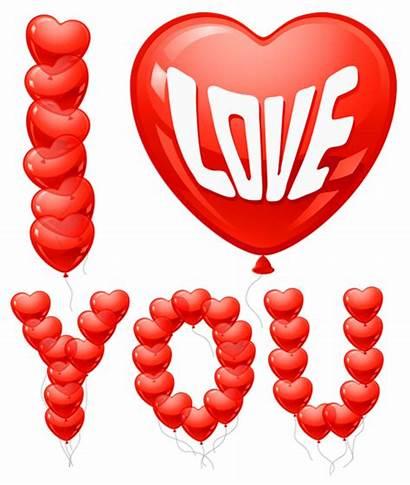Balloons Clipart Heart Valentine Transparent Balloon Valentin