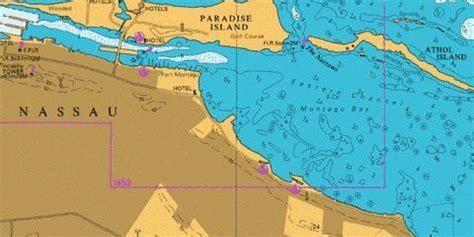 eastern approaches  nassau marine chart cbgb