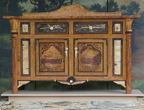 Rustic Credenza - made rustic credenza by l post rustics custommade