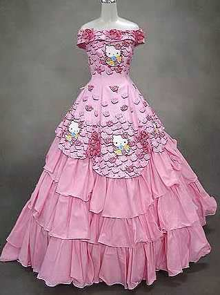 kitty wedding gowns wedding dresses  cakes