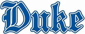 Duke Blue Devils Wordmark Logo (1978) - | Duke Blue Devils ...