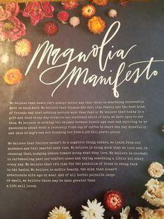 magnolia journals wonderful manifesto ponder