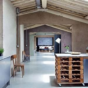 Fabriquer un ilot de cuisine 35 idees de design creatives for Idee deco cuisine avec mobilier scandinave vintage pas cher
