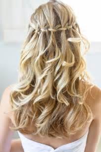 wedding braids top 5 simple wedding braid updos waterfall weddingelation