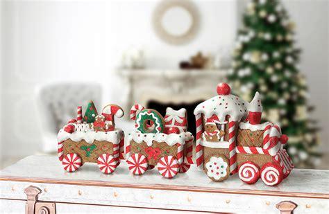 gingerbread train festive gingerbread train decor steals