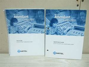 Mitel Attendant Consoles User Guide For Sx