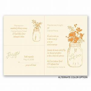 country love separate and send invitation ann39s bridal With wedding invitations separate and send