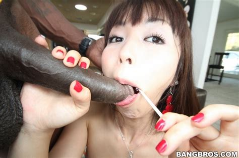 Tiny Japanese Cutie Marica Hase Takes On A Big Black