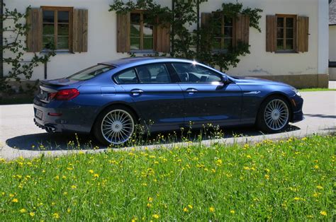2015 Bmw Alpina B6 Xdrive Gran Coupe First Test  Motor Trend