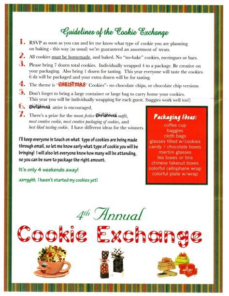 cookie exchange rules maureen hayles cookie exchange invitation