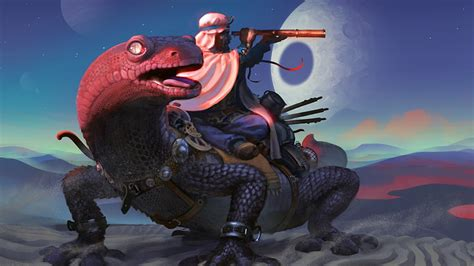 fantasy, Art, Lizards Wallpapers HD / Desktop and Mobile ...