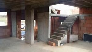 construction de la maison alsamaison With plan maison demi niveau 6 maison demi etage interieur