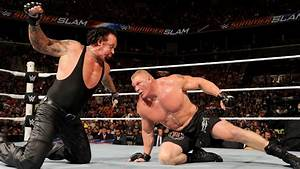 SummerSlam Recall, Match #9: The Undertaker vs. Brock ...