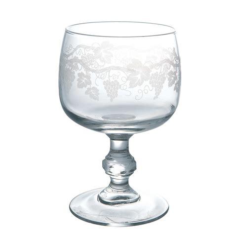 equivalence cuisine verre à vin en verre sarment 20 cl set de 3 domaine