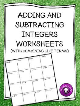 integers worksheets integers worksheet integers