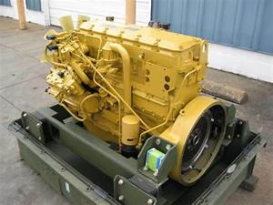 Cat 3116 Engine M35a3 2 5 Ton 170hp Government Rebuilt